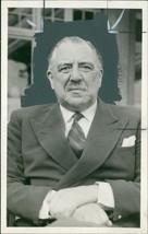 Dr. Glyn Hughes President of Blackheath Rugby Club - Vintage photo - $21.11
