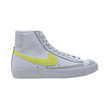 Nike Blazer Mid '77 Vintage Women's Shoes White-Lemon Venom CZ0362-100 - $110.00