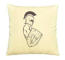 Spartan Warrior Print Cotton Throw Pillows Cover Cushion Case VPLC_03 - €9,06 EUR