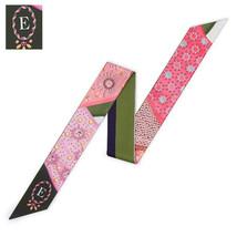 26 Letters Scarf New Design Print Women Silk Scarf 2018 Fashion Head Scarf Brand image 5