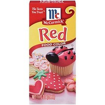 McCormick Food Color Red, 1 Ounce, 3 Count - $11.47