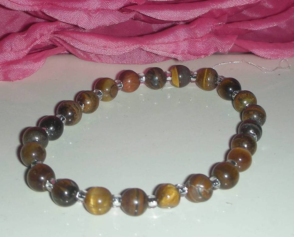 GORGEOUS TIGEREYE  BRACELET