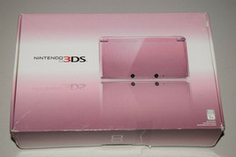 Nintendo 3DS Pearl Pink Wi-Fi Video Game Entertainment System Console Very Good. - $499.99