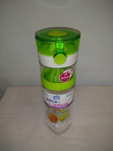 COOL GEAR JUICER INFUSER 20-26 oz. BPA FREE MADE W TRITAN REMOVABLE JUICER