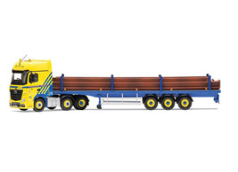 Mercedes Benz Actros MP4 Flatbed Diecast Model Lorry CC15811 - $127.23