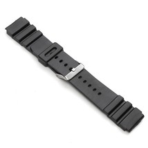 18mm 20mm Timex Men's Resin Performance Sport Black Replacement Watchband - $9.99