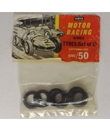 NOS Airfix Motor Racing Spares Tyres 1:43 Scale Slot Car Pattern no 5083/50 - $14.84