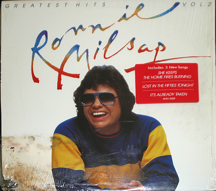 Ronnie milsap  greatest hits 2  cover