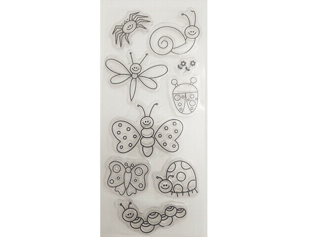 Cute Bugs Clear Stamp Set