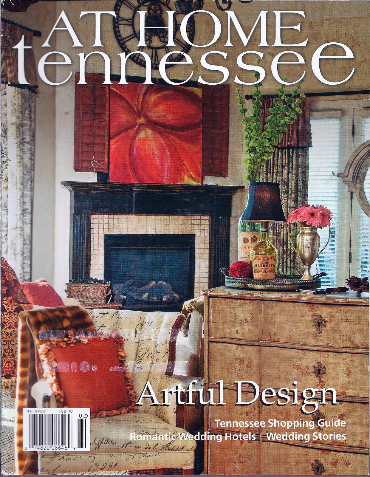 Primary image for At Home Tennessee Magazine February 2010 Fashions for You, Your Home & More