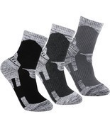 YUEDGE Men's 3 Pairs Wicking Antimicrobial Outd... - $29.42