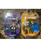 """Fortnite Action Figure Triage Trooper and The Visitor exclusive 4"""" lot of 2 - $24.74"""