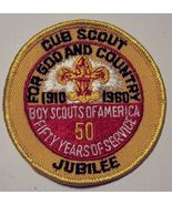 Boy Scout National Cub Scout Jubilee BSA Patch 1960 - $10.00