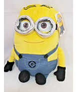 "DESPICABLE ME 2 MINION DAVE 19"" PLUSH PILLOW WITH 3D EYES BRAND NEW WITH... - £15.94 GBP"