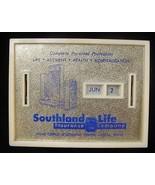 Vintage Southland Life Insurance Co Dallas Tx Coin Bank - $14.50