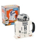 Star Wars Mug - R2-D2 3D Ceramic Coffee and Drink Mug with Removable Lid... - £20.27 GBP