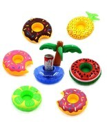 Drink Floats Swimming Drink Holder Inflatable Pool Party Hot Tubs Lakes ... - €14,07 EUR