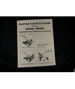 TROY-BILT HORSE ROTO TILLER PARTS MANUAL / BREAKDOWN  - $14.95