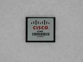Cisco 32 MB CF Compact Flash Card For 1841 2801 2811 2821 2851 3725 3745 Routers - $8.19