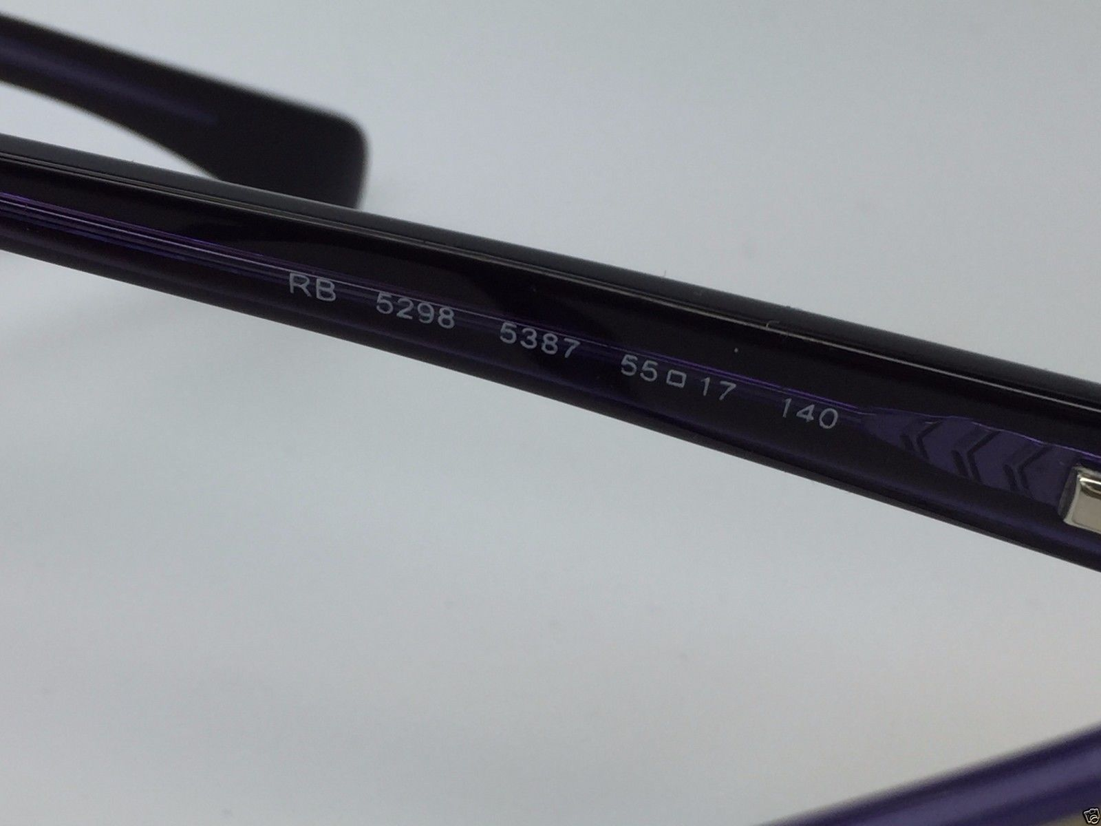 8dc3d3a003d Ray-Ban RB 5298 5387 Matte Beige on Purple New Authentic Eyeglasses 55 17