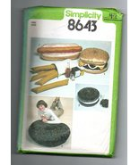 Vintage 1978 Simplicity Pattern #8648 - Junk Food  - $3.00