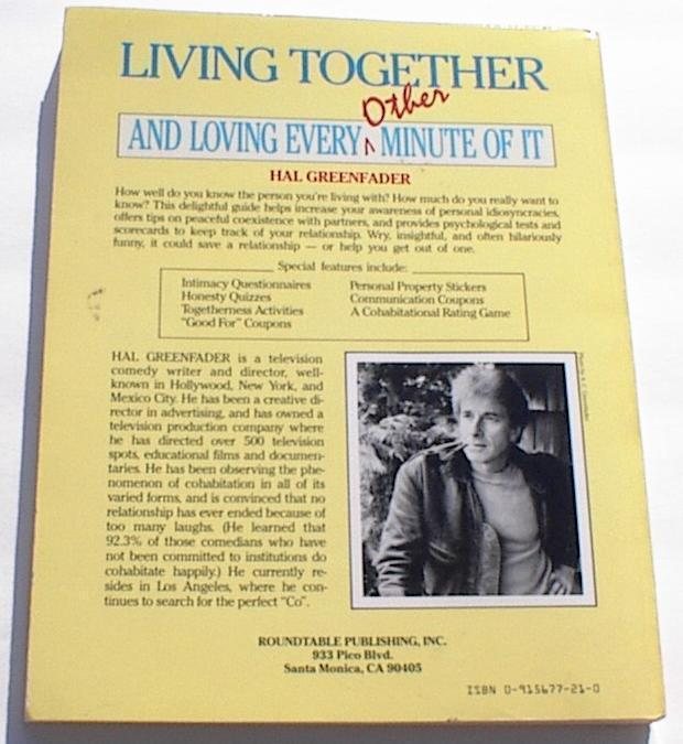 Living Together Guide to Successful Co Habitation Humor Book