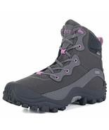 GEAR DEPOT Women's Outdoor Mid Waterproof Trekking Hiking Boots Grey - $62.10