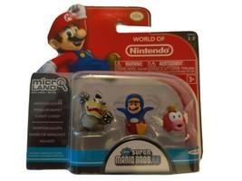 Jakks Pacific Nintendo Morton Koopa Penguin Mario and Cheep Cheep Mini Figures - $93.46