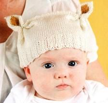 Tiny Teddy Hat Pattern, Digital PDF Download - $2.00