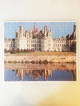 "Vintage 50s Warren Diamond Lock Picture Puzzle- #500 ""FRANCE: Chateau Chambord""  image 2"