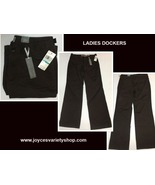 Dockers Favorite Fit Pants Brown Sz 16 Mid Rise - $15.99