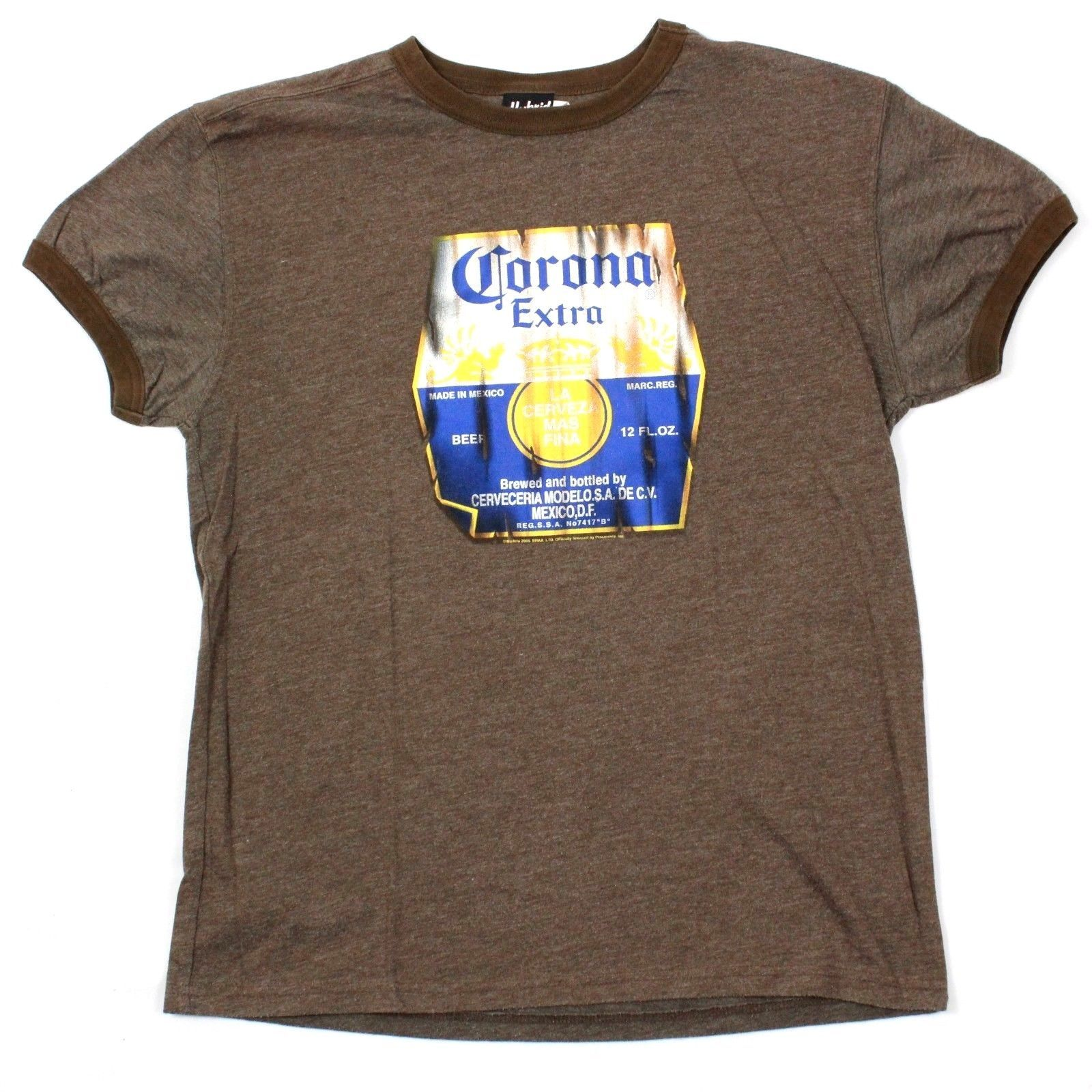 be72c35e Hybrid Tees Corona Extra T Shirt Adult and 50 similar items