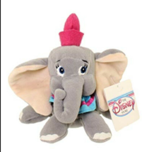 "NEW The Disney Store DUMBO Bean Bag / Beanie Stuffed Animal - 8"" Tall - $8.15"