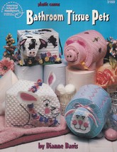 Bathroom Tissue Pets, Plastic Canvas Pattern Booklet ASN 3169 Bunny Lamb... - $5.95