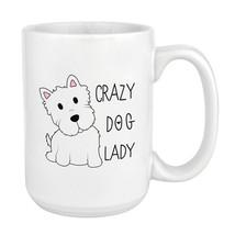 New Mug - Crazy Dog Lady 15oz Large Mug Cup - £8.80 GBP+