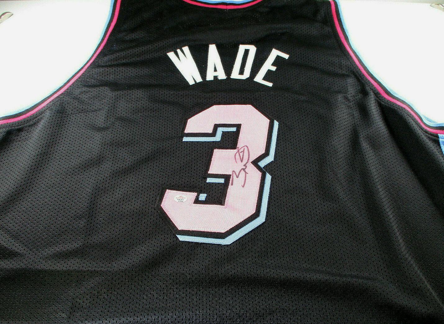 DWAYNE WADE / 2019 NBA ALL-STAR / AUTOGRAPHED MIAMI HEAT CUSTOM JERSEY / COA