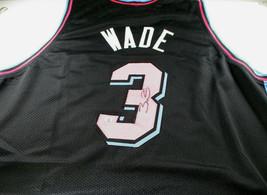 DWAYNE WADE / 2019 NBA ALL-STAR / AUTOGRAPHED MIAMI HEAT CUSTOM JERSEY / COA image 1