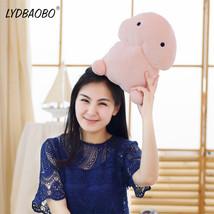 30cm stuffed cotton plush simulation penis pillow sweet plush penis toy pink soft sexy thumb200