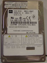 "2.1GB 2.5"" IDE Drive Toshiba - MK2110MAT HDD2131 Free USA Ship Our Drives Work"