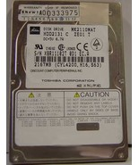 "2.1GB 2.5"" 9.5MM IDE 44PIN Hard Drive Toshiba MK2110MAT HDD2131 Our Driv... - $49.95"