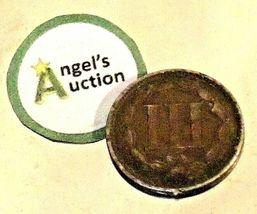 Nickel Three-Cent  1866 AA20-CNP2139 Antique image 4