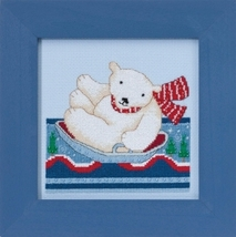 Polar Slide 2017 Polar Opposites cross stitch k... - $14.85