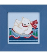 Polar Slide 2017 Polar Opposites cross stitch kit Debbie Mumm Mill Hill - $14.85