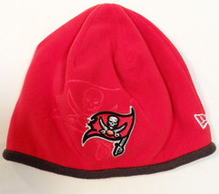 New Era NFL Pittsburgh Pirates Red Fleece Beanie Skull Cap Adult One Size NEW - $25.98