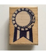 Rubber Stampede AWARD RIBBON Rubber Stamp First Place Fair Contest Schoo... - $2.97