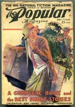 Popular Pulp Magazine December 7 1926-Modest Stein- Chisholm - $63.05