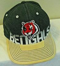 Reebok Cincinnati Bengals Fitted L / Xl Baseball Hat/Cap Nfl On Field Equipment - £5.43 GBP