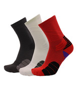 Men's Socks Crew Socks Sports Outdoor Basketball Ankle Sock A Pair Breat... - $6.98