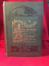 A Soldier's Experience Crimea Light Brigade 1892 Royal Fusiliers Gowing - $127.40