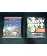 Lot of 2 Non Fiction Audio Books by David McCullough and David Grann  - $17.95